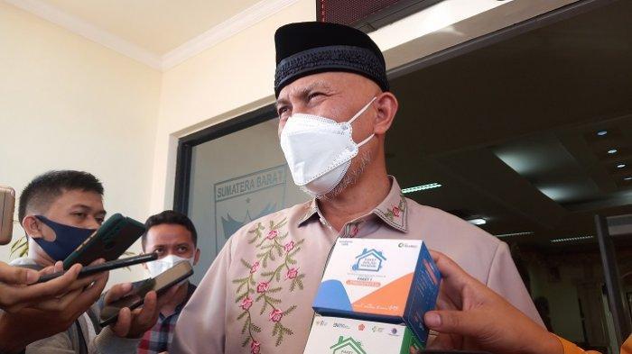 Capaian Vaksinasi Jadi Indikator PPKM, Gubernur Sumbar ke Wali Kota Padang: Koordinasi dengan Pusat