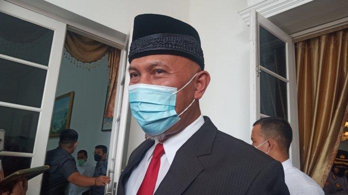 Setelah  Dilantik Jokowi Gubernur Sumbar Fokus Tangani Covid-19, Sebut Capaian Vaksinasi 94 Persen