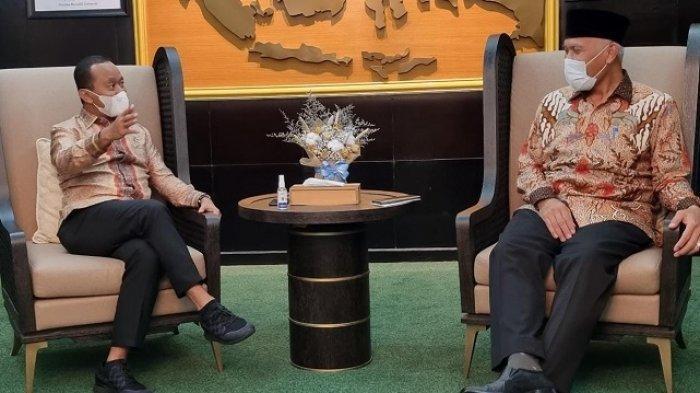Gubernur Mahyeldi Kunjungi 3 Kementerian, Upaya Percepatan Pembangunan Sumbar