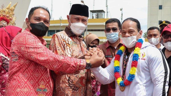 Sumbar Raih 4 Emas 4 Perak dan 9 Perunggu di PON Papua 2021, Gubernur Mahyeldi: Peluang Masih Besar