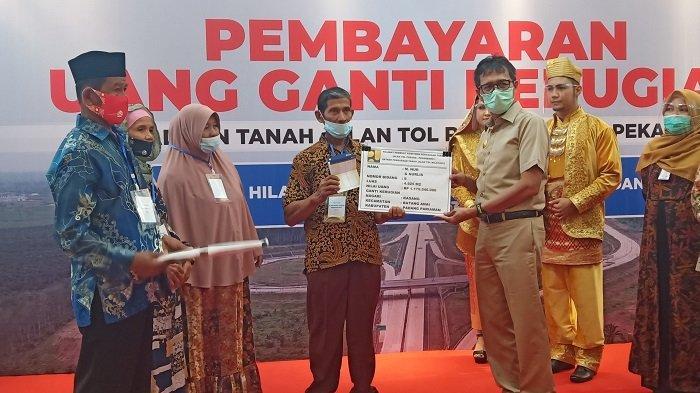 BPN Sumbar Bayar Ganti Rugi Lahan Masyarakat Terdampak Pembangunan Tol Padang-Pekanbaru, 8,3 Miliar