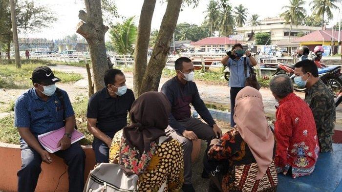 Wali kota Genius Umar Sambut Kepala LPP RRI Padang, dan Tim di Muaro Pantai Gandoriah Kota Pariaman