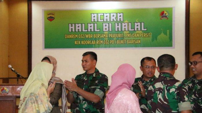 Danrem 032/Wirabraja Sebut Momentum Fitrah Diri, Prajurit Harus Tingkatkan Jati Diri dan Profesional