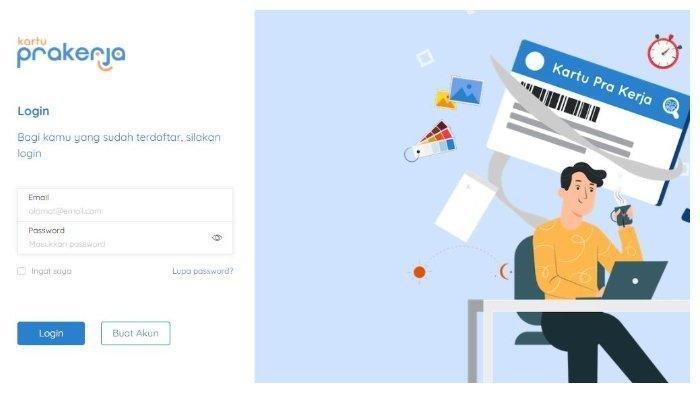 Cara Cek Lolos atau Tidak Pada Program Kartu Prakerja, Cek Dashboard Akun www.prakerja.go.id