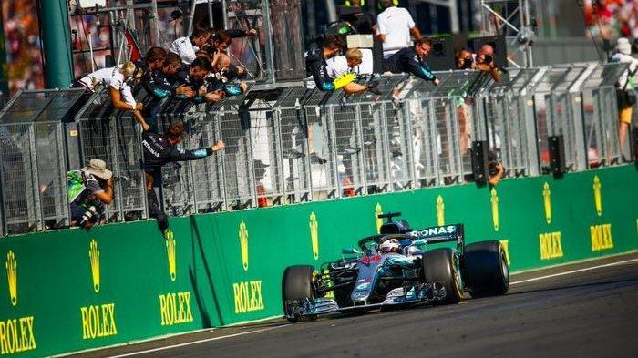 UPDATE BALAP F1 - Lewis Hamilton Dapat Poin Ekstra Lantas Makin Kokoh di Puncak Klasemen