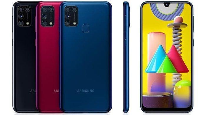 Harga HP Samsung & Spesifikasi Lengkap Samsung Galaxy M31, Mulai Dijual pada Senin 23 Maret 2020