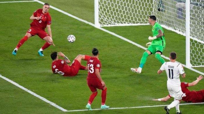 Hasil Turki Vs Italia: Skor 0-3, Gol Bunuh Diri jadi Gol Pembuka Euro 2020