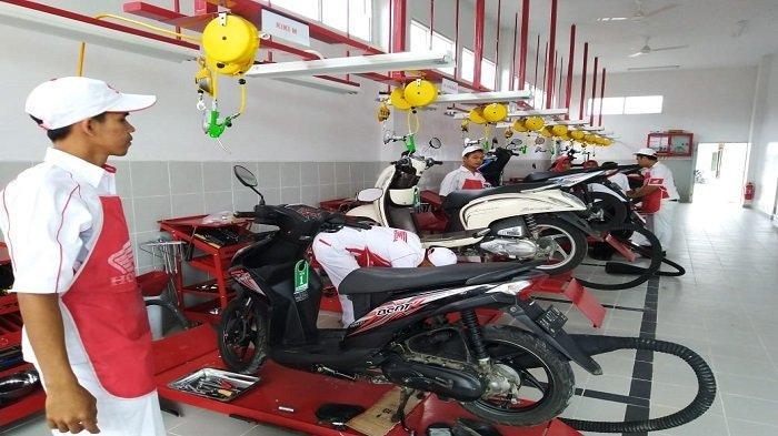 PT HPM Buka Bengkel Resmi Sepeda Motor Honda di Kota Bukittinggi Sumbar