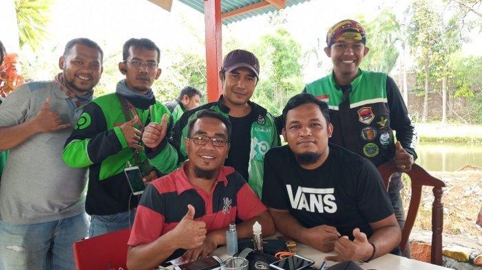 FKDOP, ForumBernaungnya Komunitas Ojek Online di Padang, Anggota yang Meninggal Diberi Santunan