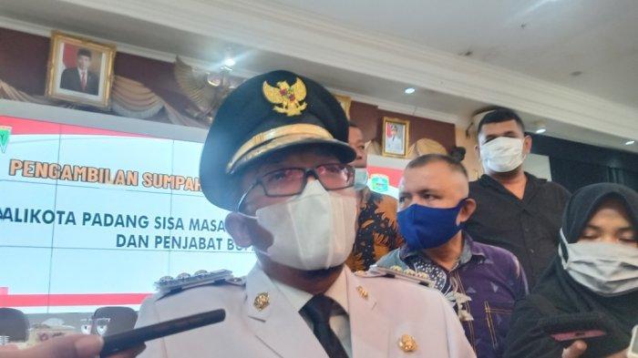 Langsung Gerak, Ini yang Dilakukan Hendri Septa Setelah Dilantik Jadi Wali Kota Padang