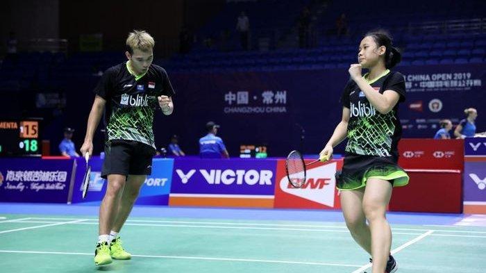 Rinov/Pitha Tatap Titel Juara Ajang China Terbuka di Changzou, China