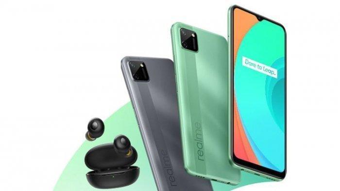 UPDATE Harga HP Realme & Huawei Maret 2021 di Padang, Realme C11 Cuma Rp 1 Jutaan