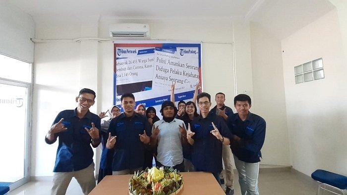 Acara syukuran HUT ke-2  TribunPadang yang berlangsung di Kantor Redaksi&Bisnis;, Jl Dr Sutomo Kota Padang, Kamis (18/2/2021) mulai pukul 15.00 hingga 16.00 WIB. T