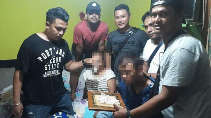 Ibu Suruh Anak Jualan Narkoba di Padang, Ditemukan 48 Paket Sabu, Keduanya DitangkapPolisi