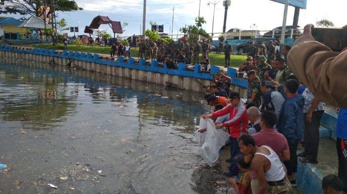 Alasan Pemprov Sumatera Barat Tebar 10 Ribu Ekor Benih Ikan Puyu di Danau Cimpago Padang