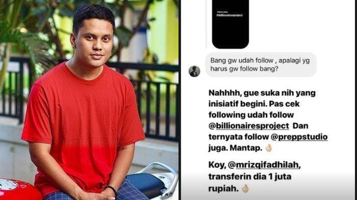 TREN Ikoy-ikoyan Lewat Medsos Instagram, Pencetus Youtuber Arief Muhammad Bagikan InstaStory