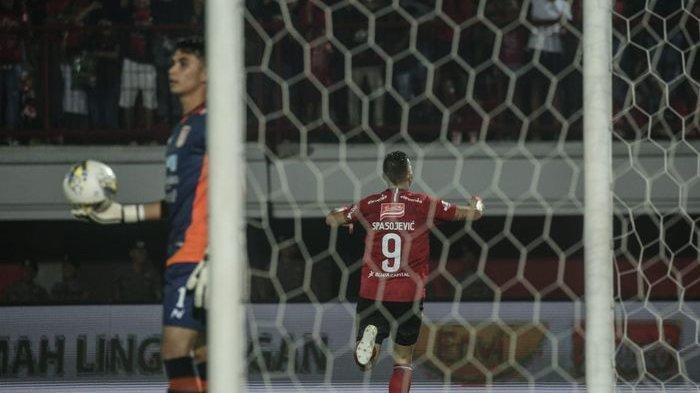 Bali United vs Persita Tangerang - Ilja Spasojevic Jadi Pembeda, Serdadu Tridatu Puncaki Klasemen