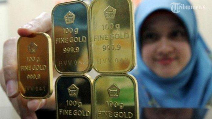 Harga Emas di Pegadaian Padang Selasa 4 Mei 2021, Emas Antam Rp 962.000 per Gram