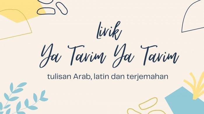 Arti Lirik Ya Tarim Ya Tarim, Lengkap Tulisan Arab dan Latin Serta Terjemahan