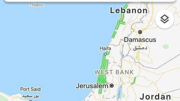 KLARIFIKASI soal Viral Peta Palestina Dihapus Google Maps dan Apple Maps, Fakta atau Hoaks?