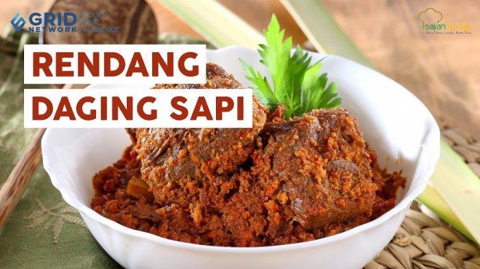 Cara Membuat Rendang Daging KhasPariaman Sumatera Barat, Bisa Dicampur Kacang Merah