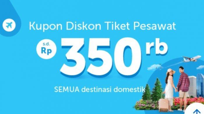 Promo Kupon Diskon Tiket Pesawat Hingga Rp 350 Ribu Untuk Penerbangan Semua Rute Domestik Tribun Padang