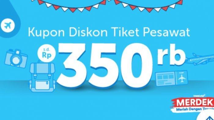 Hari Ini Terakhir, Kupon Diskon Tiket Pesawat Hingga Rp 350 Ribu dengan Rute Domestik
