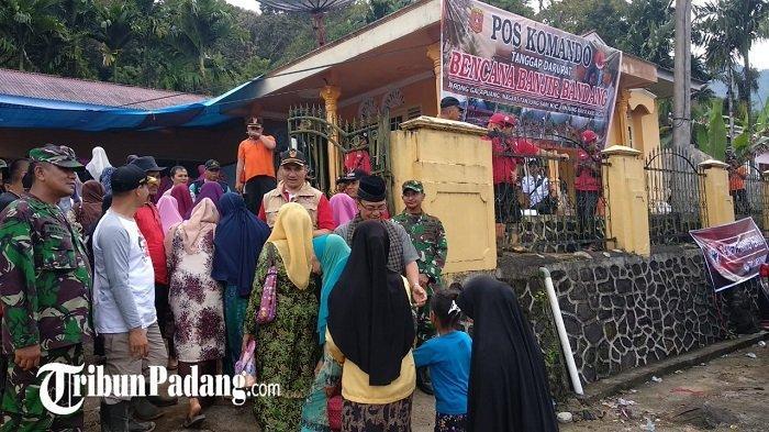 Bupati Agam, Indra Catri Sebut Kerugian Akibat Banjir Bandang Ditaksir Rp 2 Miliar