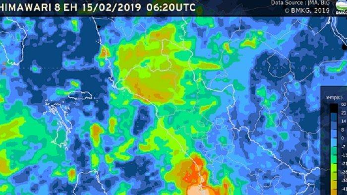 Prakiraan Cuaca Sumatera Barat, 26-28 Oktober 2020: Berawan dan Hujan Ringan di Sejumlah Daerah