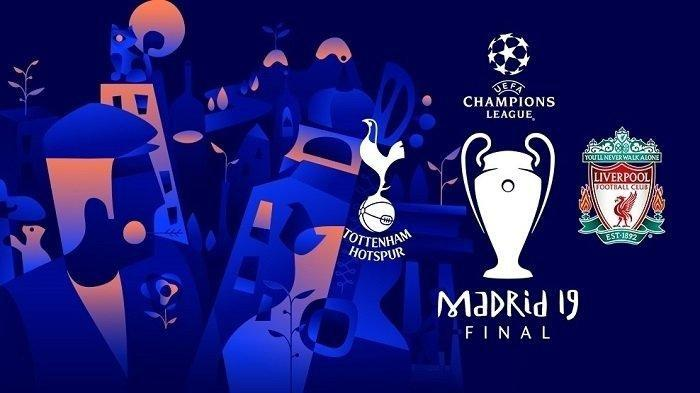 FINAL LIGA CHAMPIONS Tottenham vs Liverpool, 2 Juni di Stadion Wanda Metropolitano, Pukul 02.00 WIB