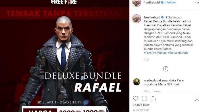 DOWNLOAD Free Fire Update Terbaru, 17 Pembaruan dari Item hingga Hero, Ada Karakter Terbaru Rafael