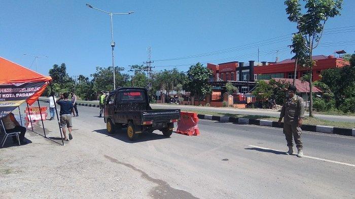 Padang Berlakukan PPKM Level 4, BPBD: Penyekatan Kendaraan di Pintu Masuk Kota Akan Ditiadakan