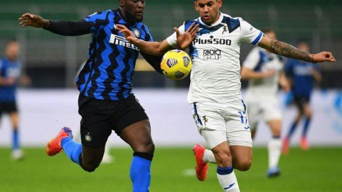 Rekor Kemenangan Beruntun Inter Milan di Kandang Berlanjut, Atalanta Jadi Korban ke-10