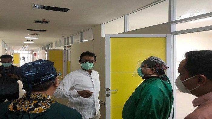 Antisipasi Lonjakan Kasus Covid-19, Pemprov Sumbar Siapkan Rumah Sakit dan Tempat Karantina