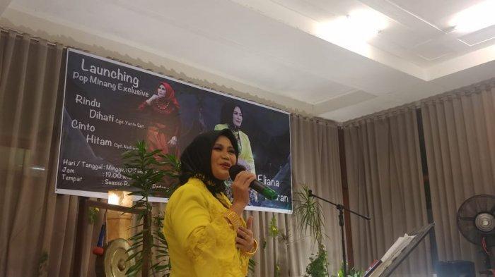 Eliana Amran, Istri Mantan Kajati Sumbar Luncurkan Album Lagu Minangkabau