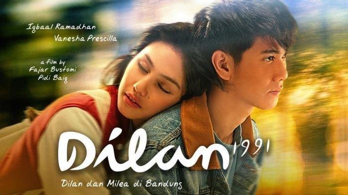 Live Streaming Film Dilan 1990 Dan Dilan 1991 Di Sctv Ini Sinopsis Trailer Kisah Cinta Milea Tribun Padang