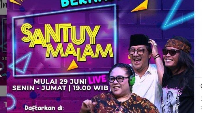 Jadwal Acara TV Kamis 2 Juli 2020 Trans TV RCTI SCTV GTV Indosiar ANTV, Ada Sule di Santuy Malam