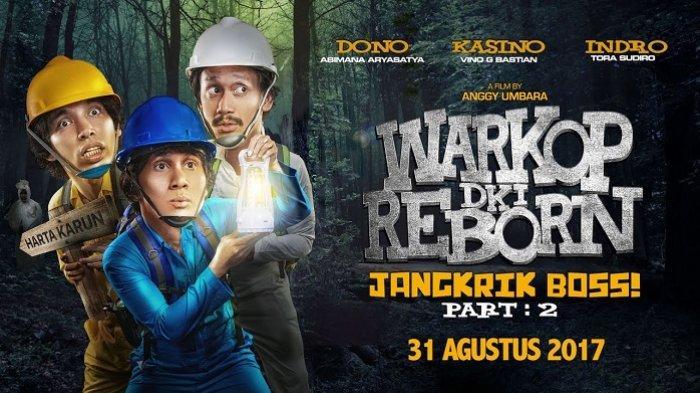 Jadwal Acara TV Hari Ini Rabu 11 September 2019 Trans TV SCTV GTV Indosiar, Film Warkop DKI Reborn