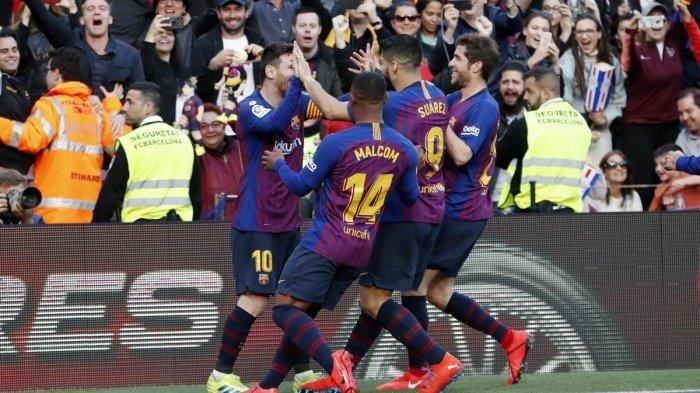 Hasil Liga Spanyol, Barcelona Menang Melawan Atletico Madrid, Jarak Poin Kedua Tim Melebar 11 Angka