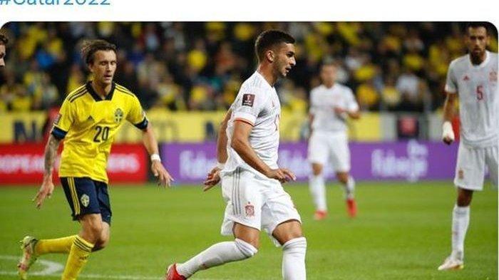 Hasil Swedia vs Spanyol - Ferran Torres tak Berkutik Dikepung, Penggawa Blågult alias Si Biru-Kuning