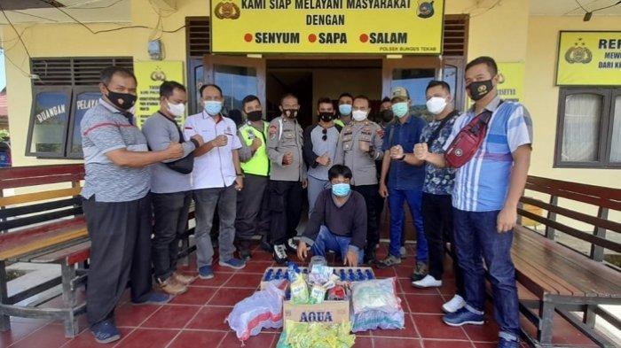 Palak Sopir Truk Tangki di Jalan Padang-Painan, Seorang Preman Diamankan, Modus Jual Air Mineral