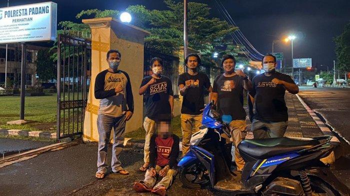 Remaja 16 Tahun di Padang Begal Pengendara di Simpang 4 Pantai Air Manis, Ancam Pakai Sangkur