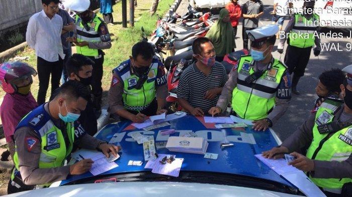 Razia Operasi Patuh Singgalang 2020 Berakhir, Polresta Padang Layangkan 1.418 Surat Tilang
