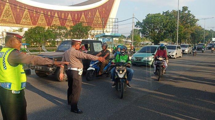 1.800 Kendaraan Ditilang Selama Operasi Patuh Singgalang 2019 di Padang,Terbanyak Tak Pakai Helm