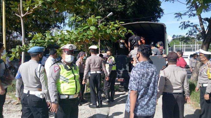 Patroli Polresta Padang Jaring Puluhan Orang, Kena Sanksi dan Bisa Terancam Hukuman Kurungan