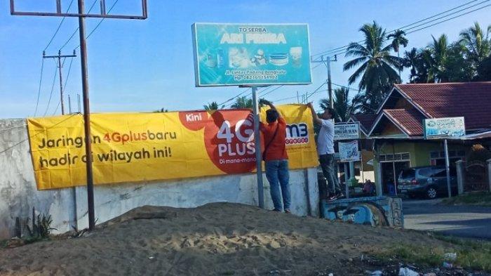 Jaringan 4G Plus Indosat Sudah Bisa Dinikmati di Pesisir Selatan, Mulai dari Surantih Sampai Lunang