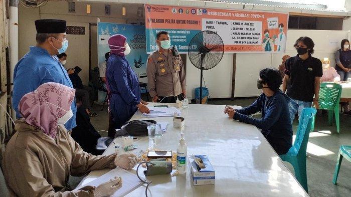 Jaringan Lintas Iman Padang Gelar Vaksinasi Gratis, Bantu Sesama Tanpa Bedakan Identitas