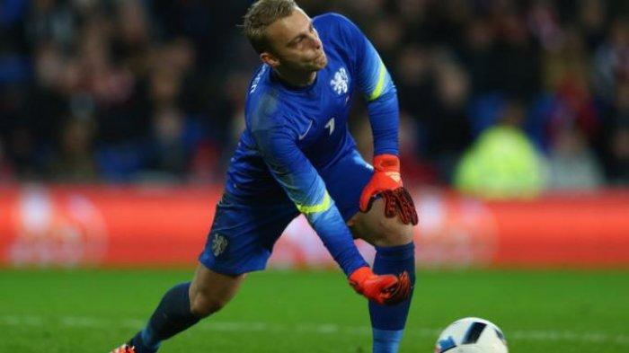 GRUP C Euro 2020: Timnas Belanda Relakan Kiper Andalan, Jasper Cillessen Dicoret dari Formasi