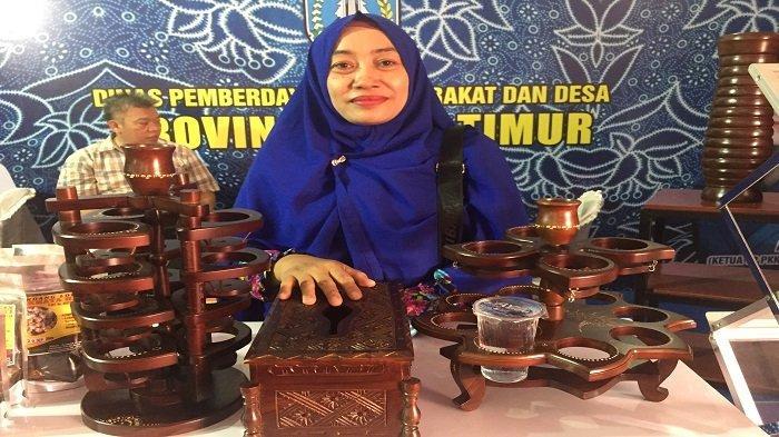 Perabotan dari Kayu Jati yang Dipamerkan saat HGK PKK Nasional di Kota Padang, Dijual Rp 100 Ribu
