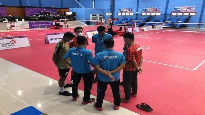 PON XX Papua 2021: Tim Sepak Takraw Putra Sumbar Harus Puas Bawa Medali Perunggu